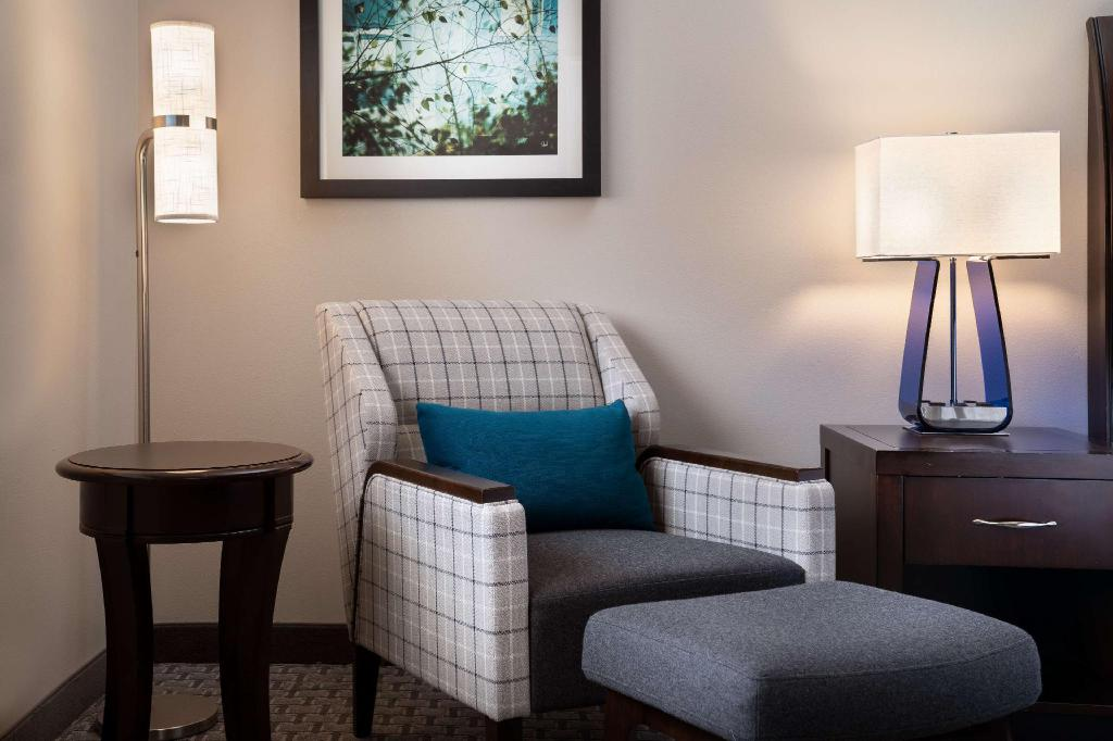 1 King Bed Mountain View - Guestroom Hilton Garden Inn Denver Cherry Creek