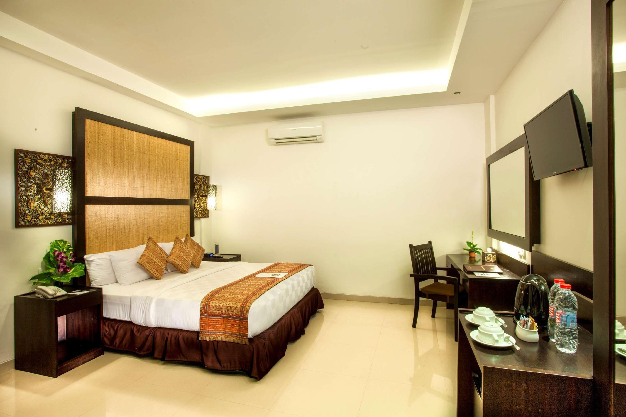 Kamar Deluxe dengan Kasur Queen – Bebas Asap Rokok (1 Queen Bed Deluxe Room Non-Smoking)
