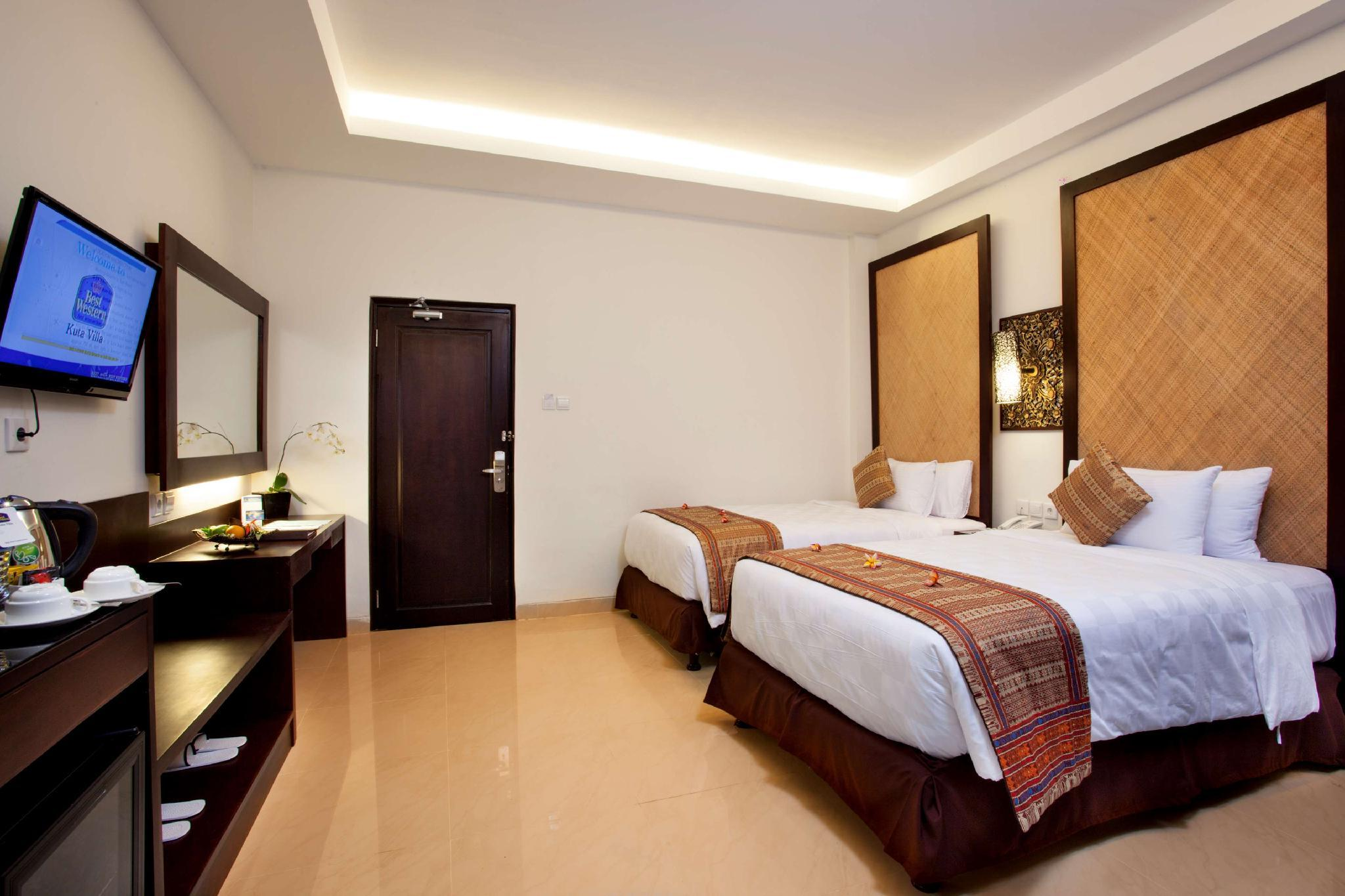 Kamar Deluxe dengan 2 Kasur Single – Bebas Asap Rokok (2 Single Beds Deluxe Room Non-Smoking)