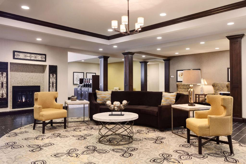 Lobby Homewood Suites by Hilton Huntsville Downtown