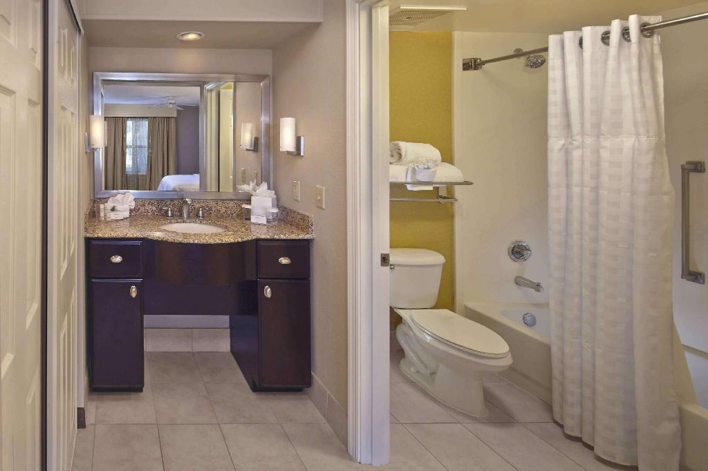 1 King or 2 Double 2 Bedroom Suite Non-Smoking - Guestroom Homewood Suites By Hilton Lake Mary Hotel