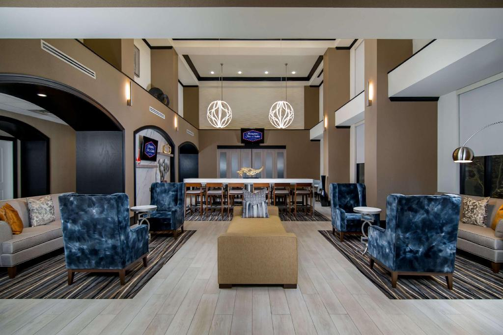 Lobby Hampton Inn and Suites Ft. Worth Fossil Creek