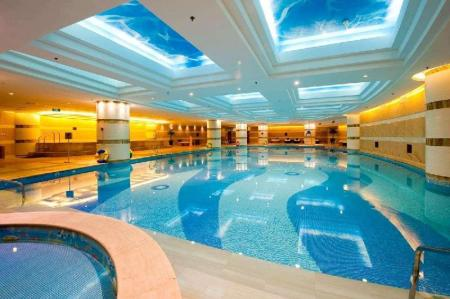Piscina Wyndham Grand Plaza Royale Hangzhou