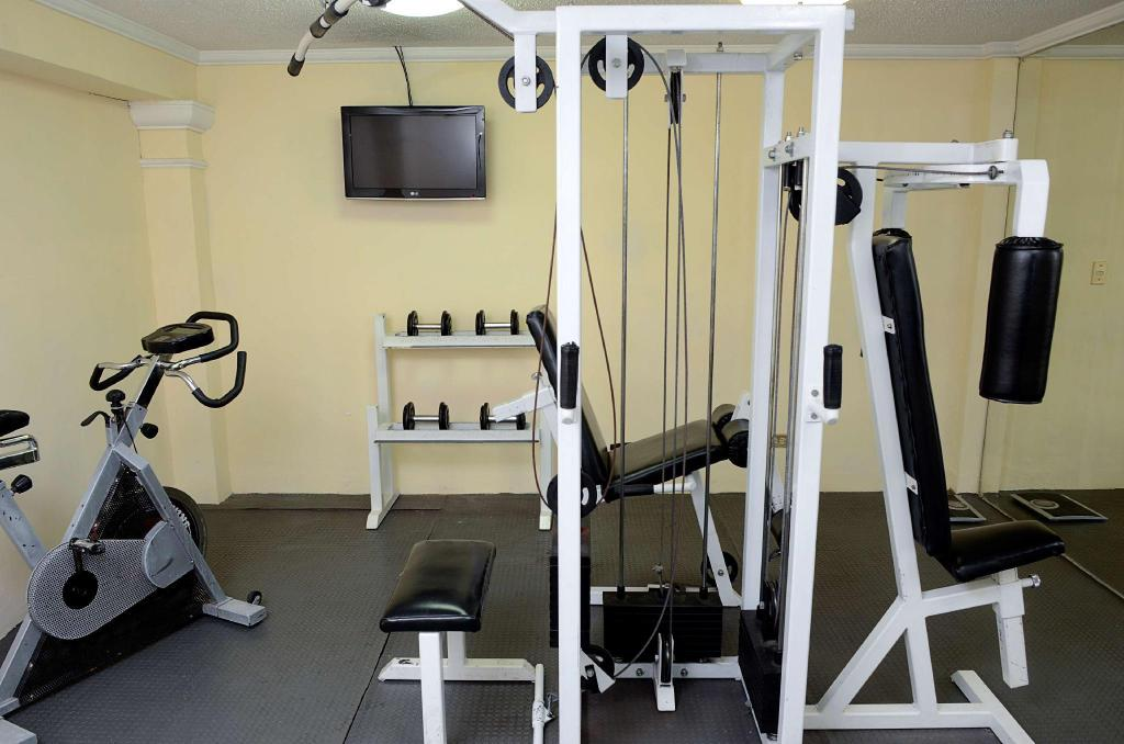Fitness center Best Western Centro Monterrey