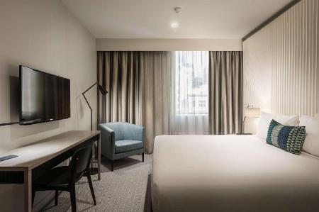 King Guest Room - Guestroom DoubleTree by Hilton Hotel Melbourne -Flinders Street