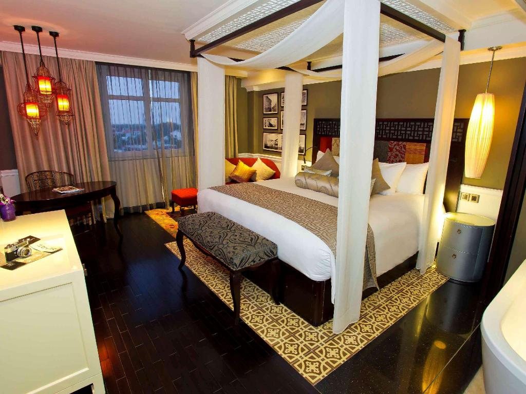 Deluxe-Zimmer mit Kingsize-Bett - Zimmer Hotel Royal Hoi An - MGallery