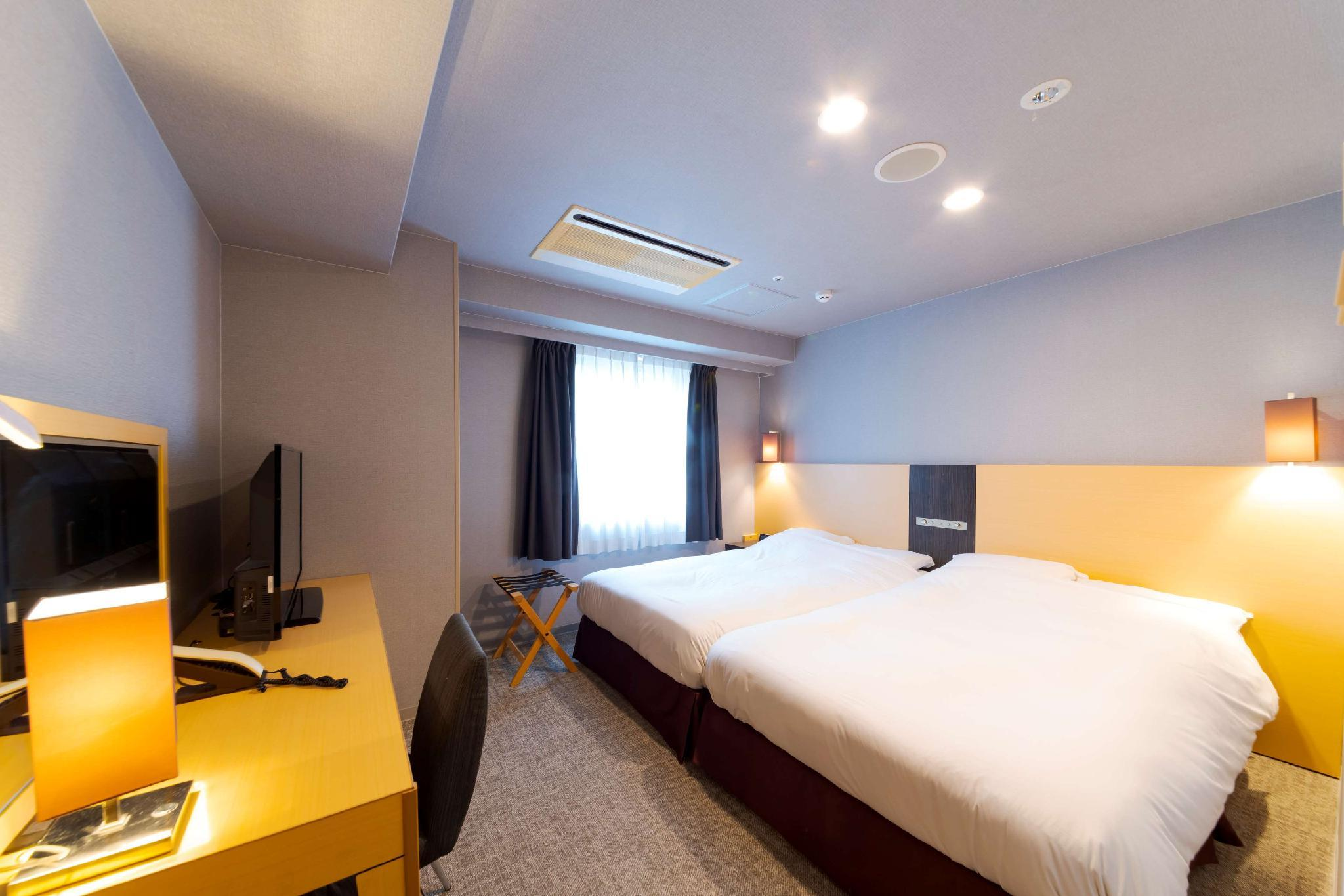 Quarto Twin Hollywood para 3 pessoas - Fumadores (Hollywood Twin Room for 3 People - Smoking)