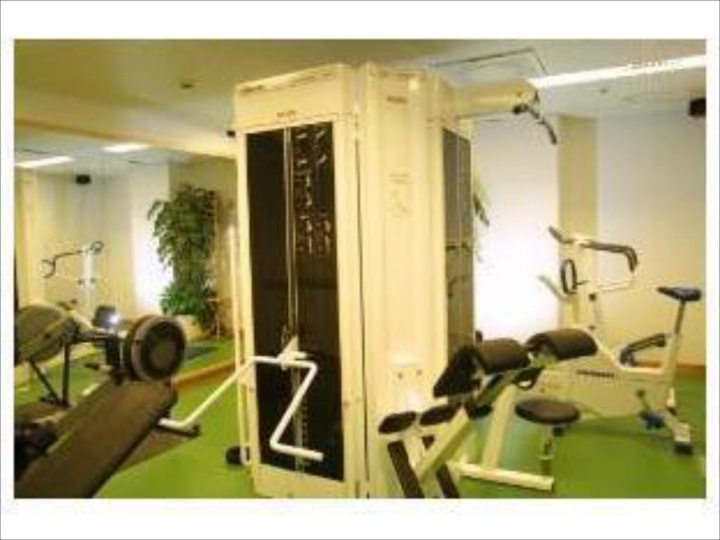 fitness centrum Scandic Marski