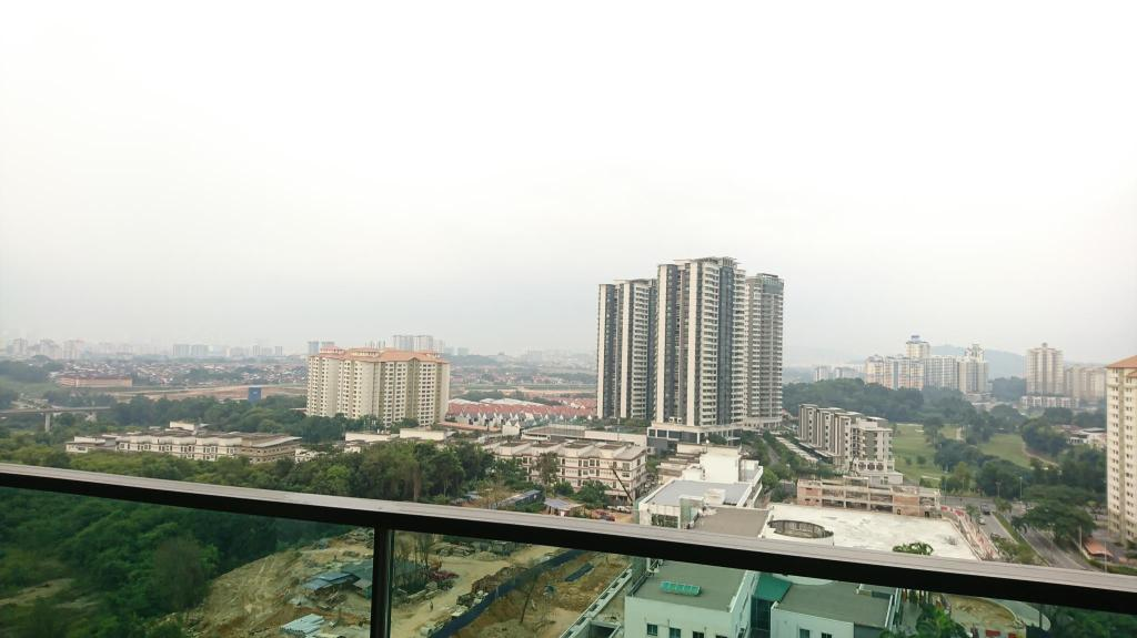 View from inside Treez Condo @ Bukit Jalil