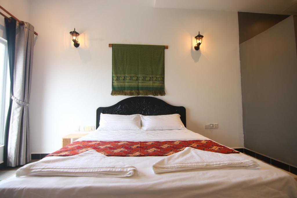 Double Deluxe Room - Bed Chan Angkor Boutique