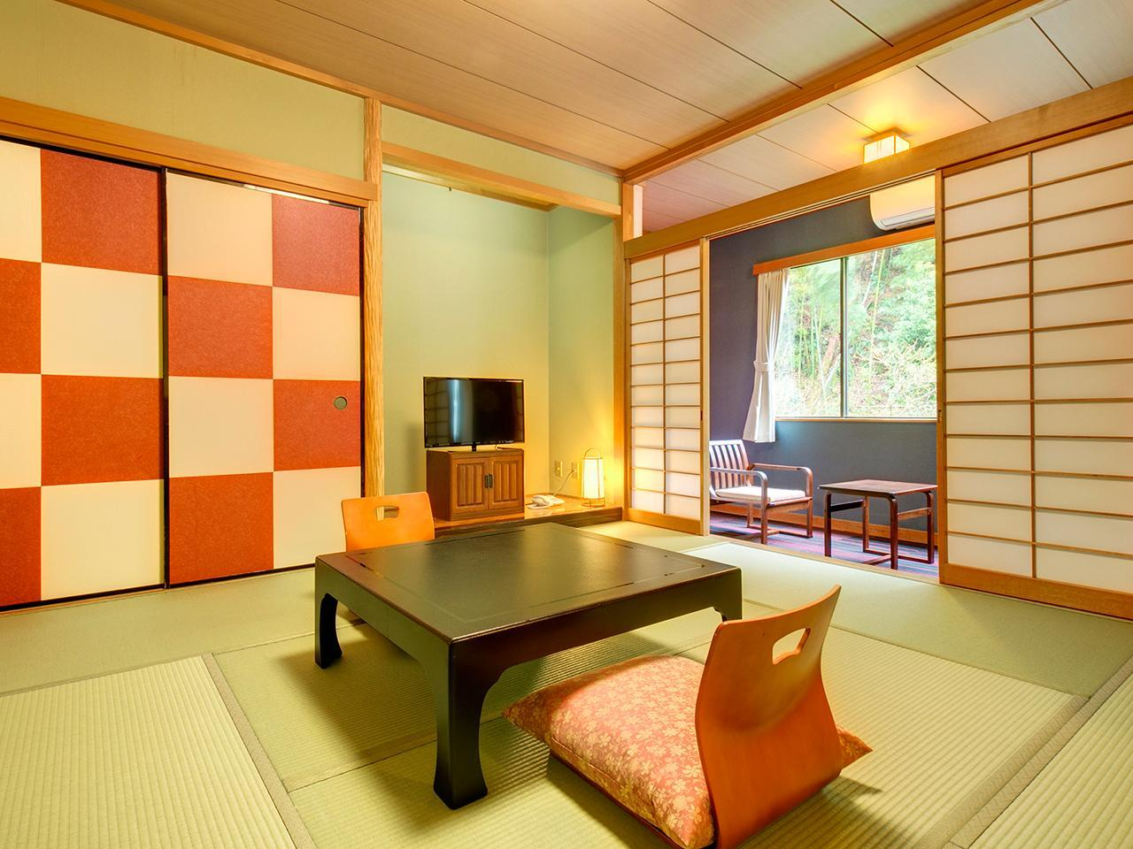 Japanese Style Room with 8 Tatami for 4 People - Smoking