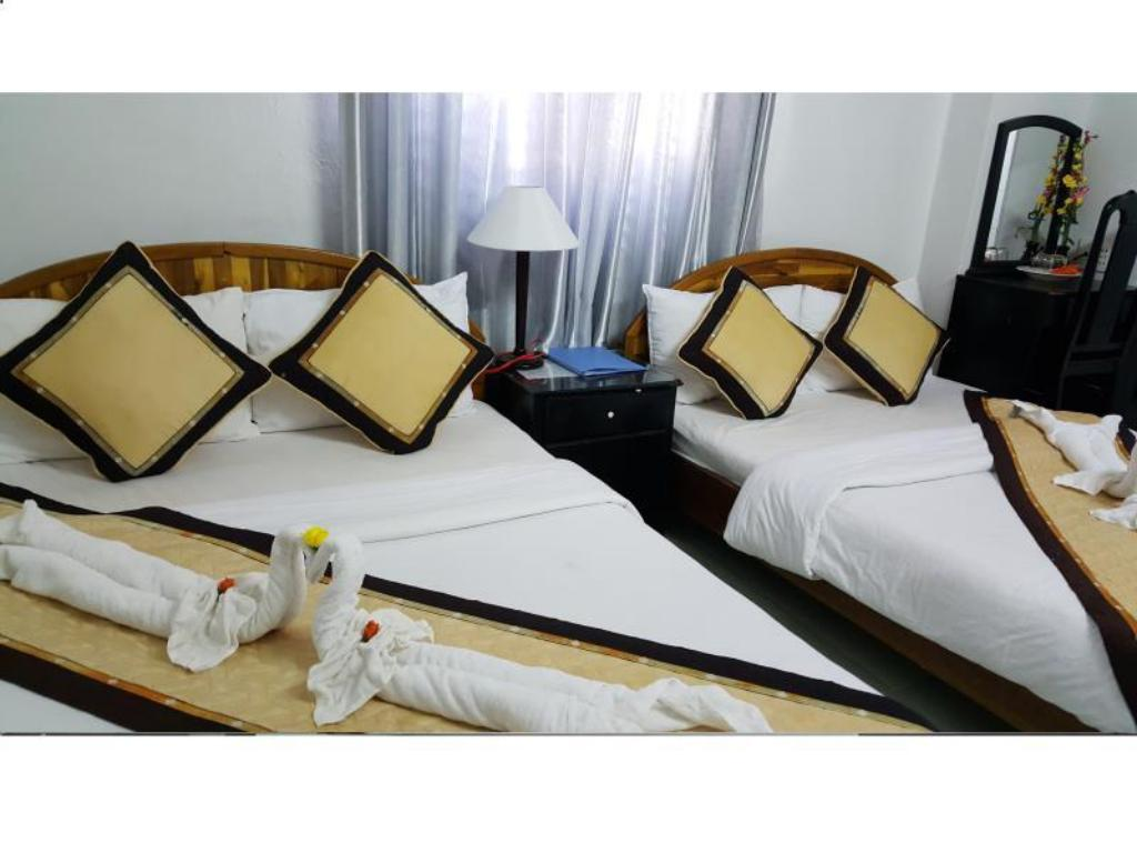 Hotellet indefra Tan Phuong Hotel