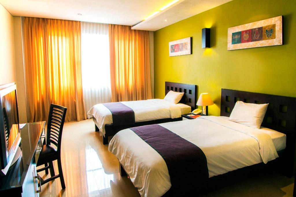 Superior Twin Room Eclipse Hotel Prawirotaman