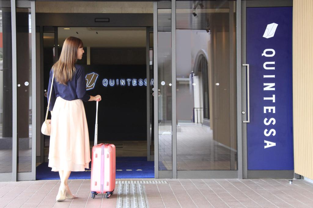 Entrance Quintessa Hotel Iseshima