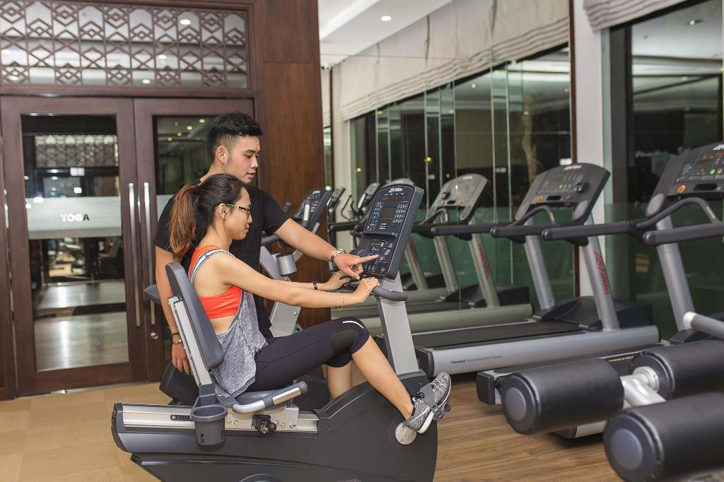 Fitness center Hoasun Home One-Bedroom Apartment with River View