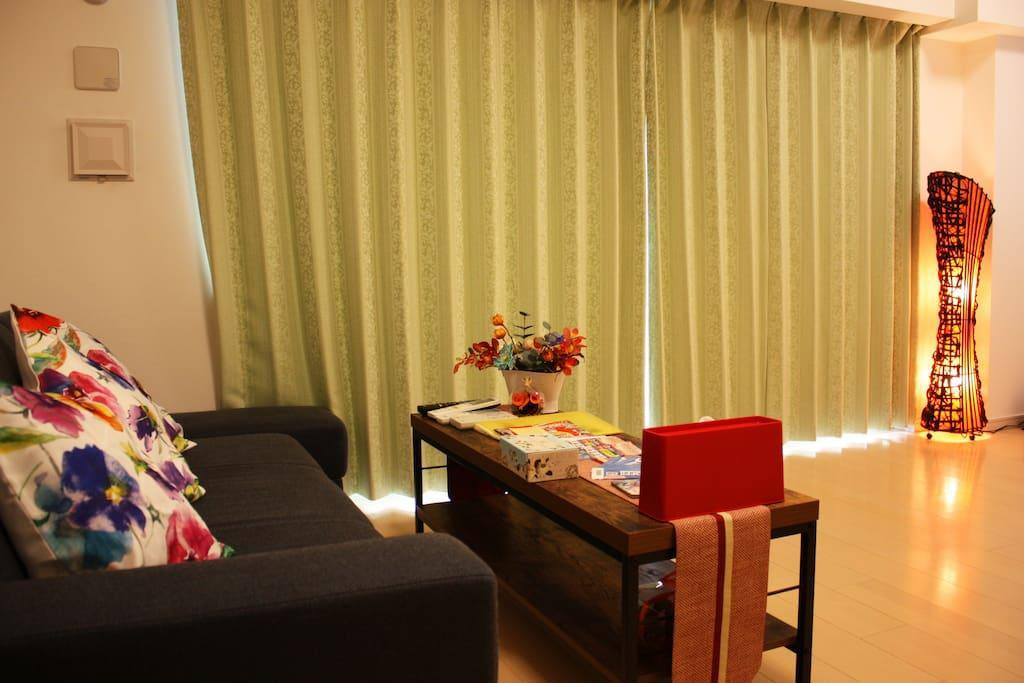 Facilities NC 2 Bedroom Luxury Apartment in Shinsaibashi