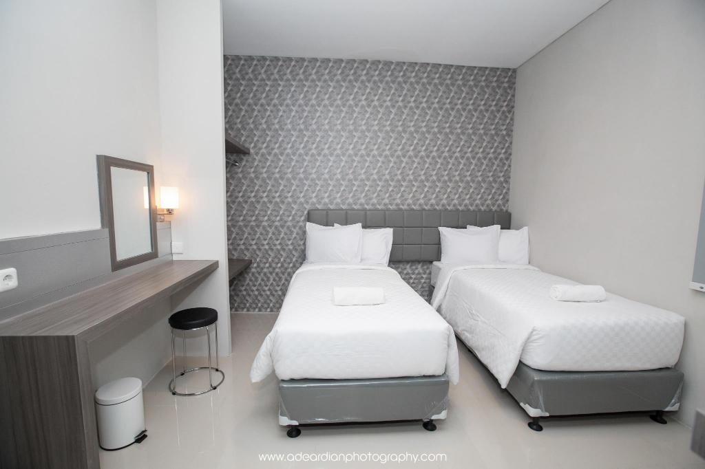 Smart Room Twin Bed - Bed Smart Budget Hotel