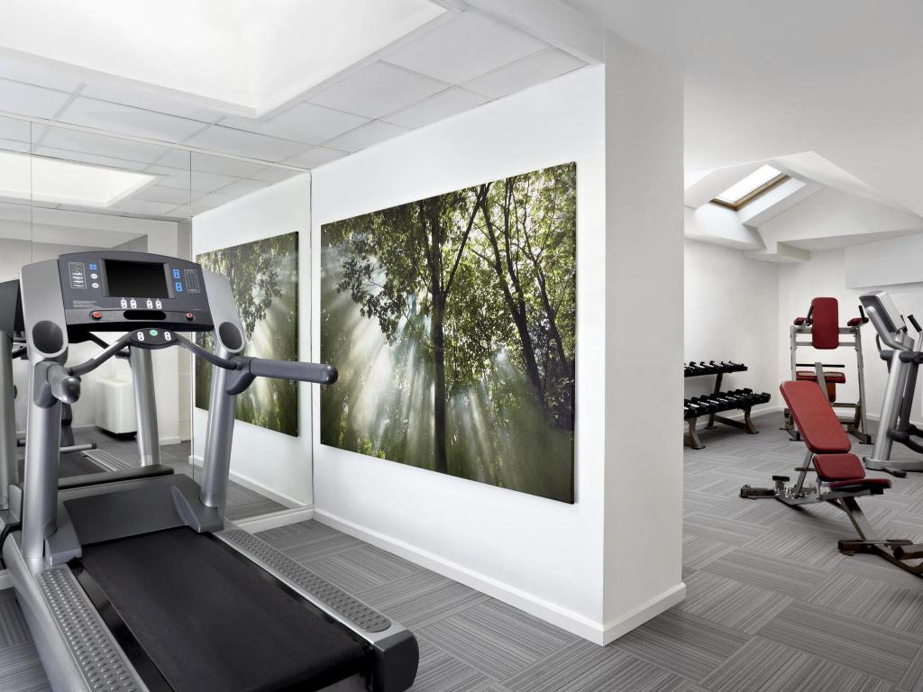 Fitness center Four Points by Sheraton Brussels