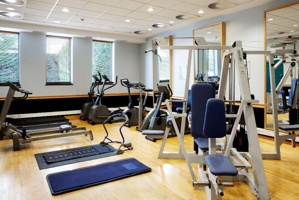 Fitness center NH Brussels Airport Hotel
