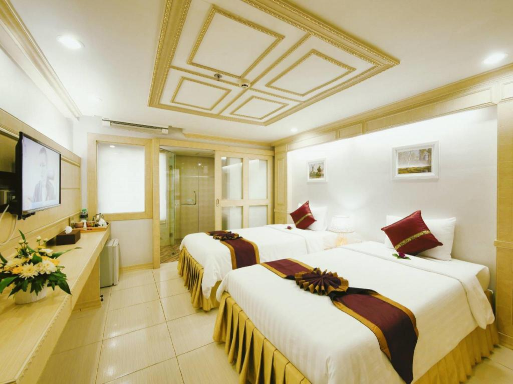 Deluxe Twin Bed Room - Bed Golden Dragon Suvarnnabhumi Hotel