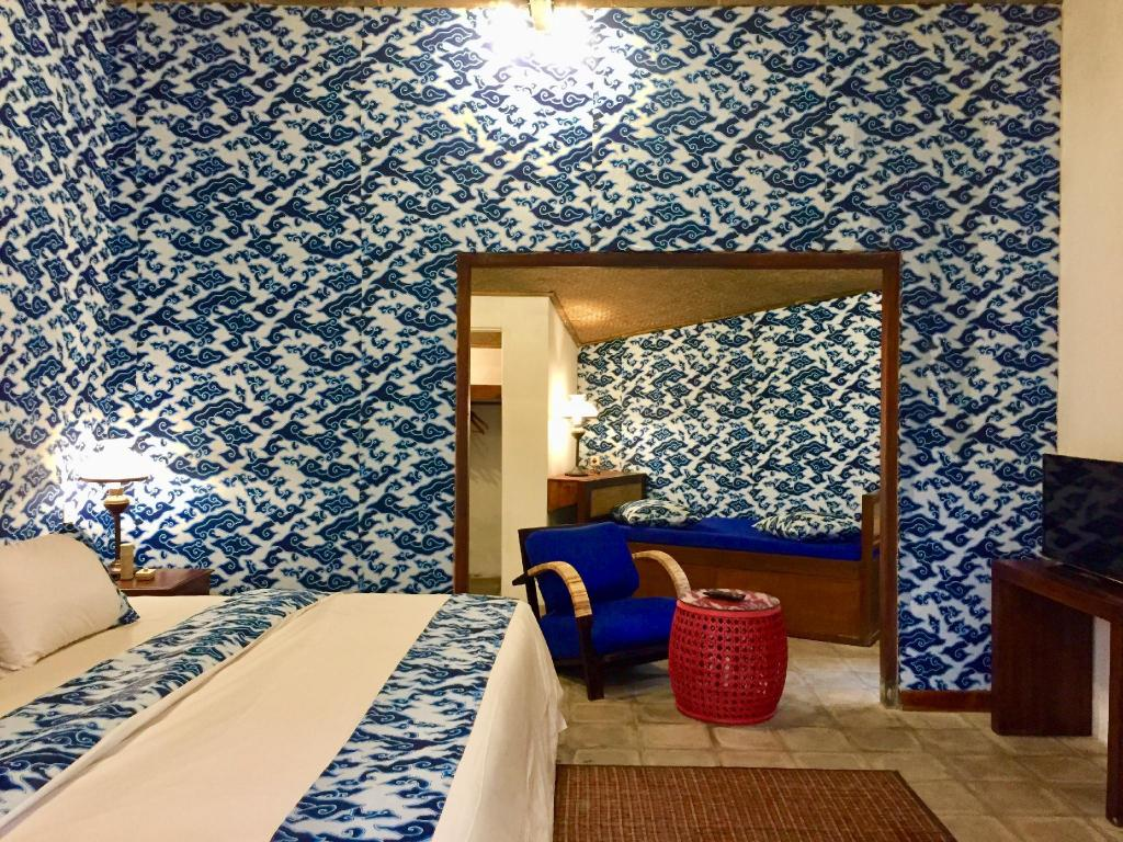 3 Bedroom Resort Villa - Bed d Omah Hotel Yogya
