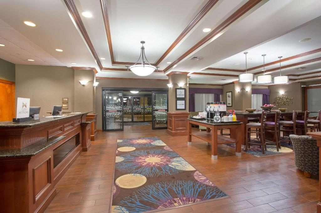 Lobby Hampton Inn Siloam Springs