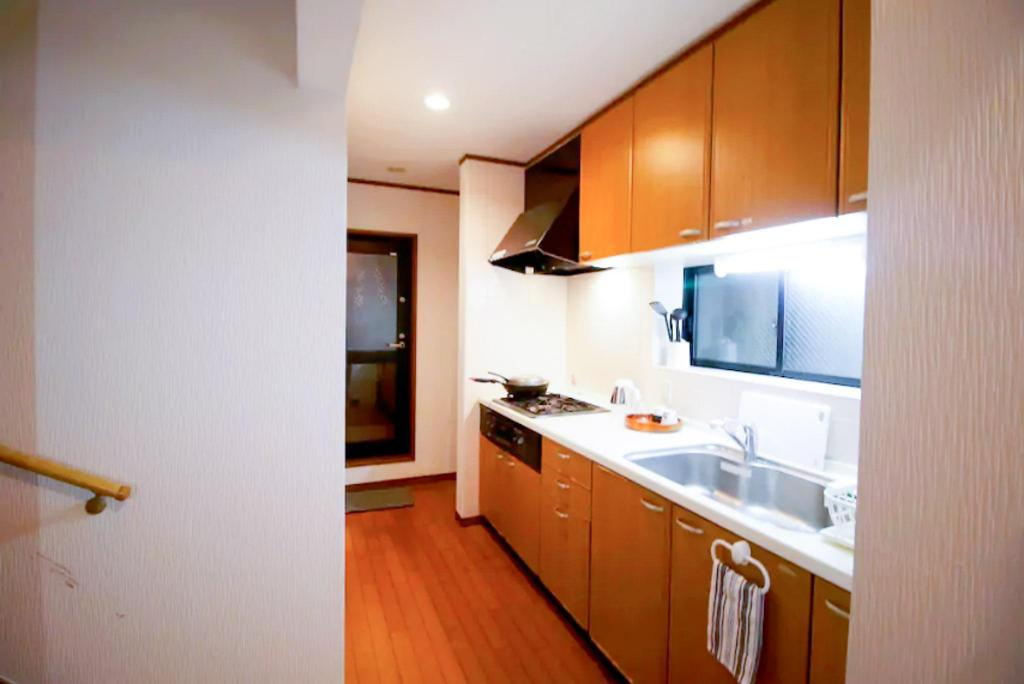 Kuchyně Yingzi House 5mins Ikebukuro station 3floors spacious house