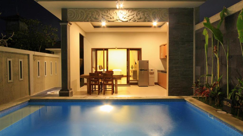 Swimming pool The Surya Kuta Villa