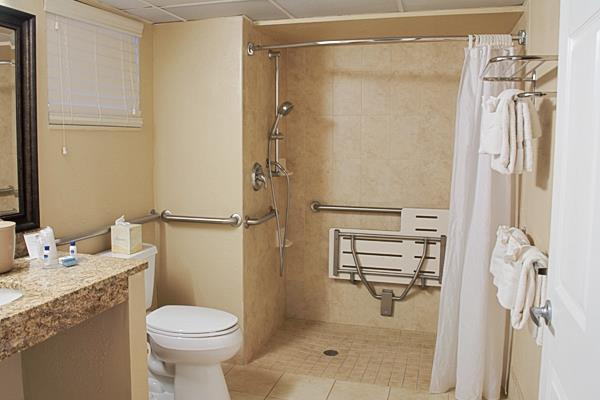 1 King Bed Mobility Accessible Walk In Shower Non-Smoking