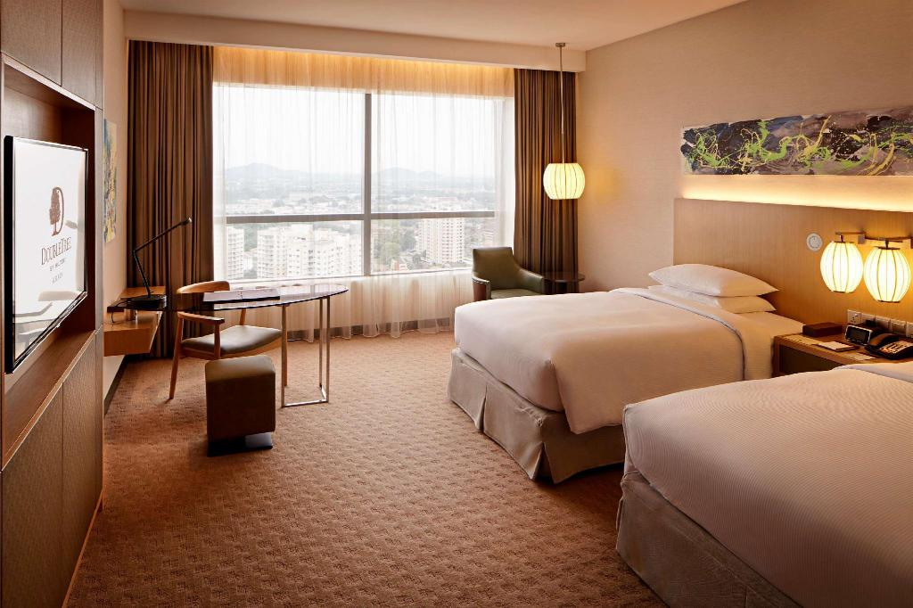 Twin Guest Room High Floor - Guestroom Doubletree by Hilton Melaka