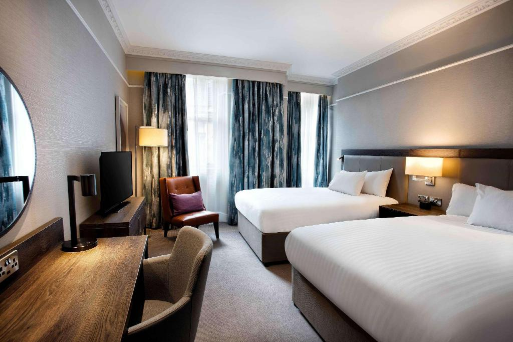 Two Double Beds Guest Room - Istaba viesiem Hilton Edinburgh Carlton