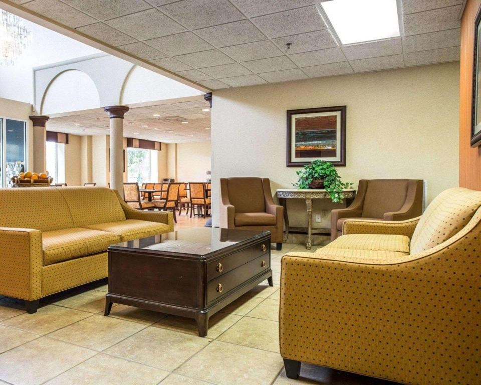 Interior view Comfort Suites