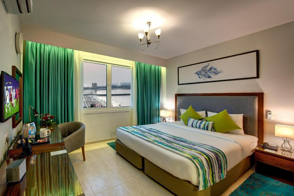 Deluxe King Sea View Room - Bed City Stay Beach Hotel Apartments