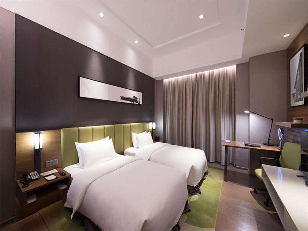 Superior Twin Bed Room - Guestroom Chengdu Mulian Urban Resort Hotel