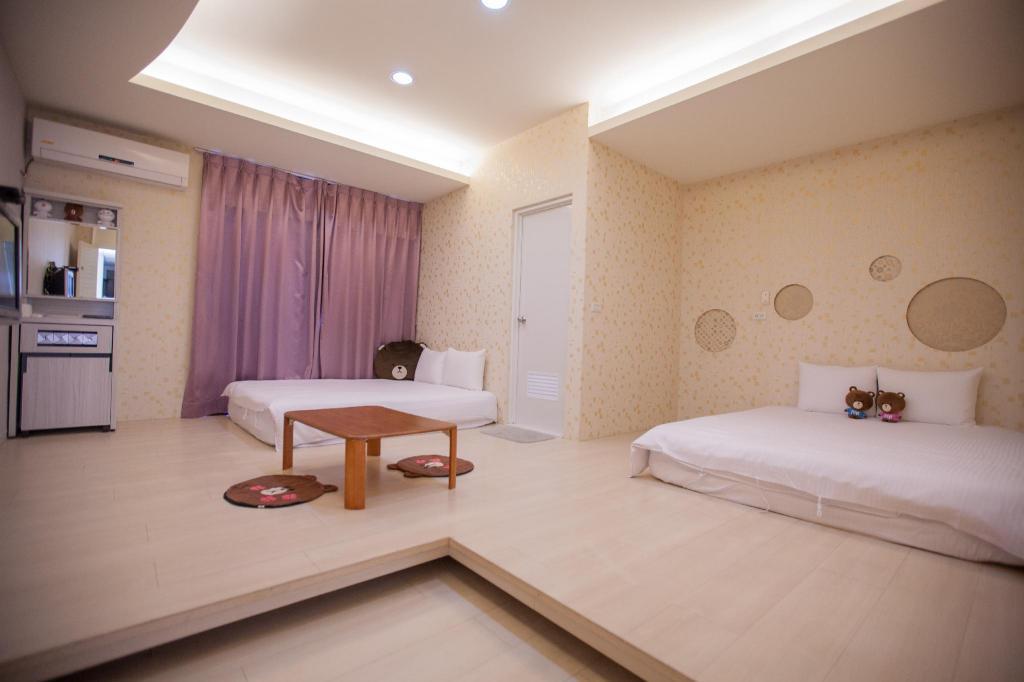 享宿逢甲四人房 - 近逢甲夜市GEjoysleep Quadruple Bedroom-Fengjia Night Market B