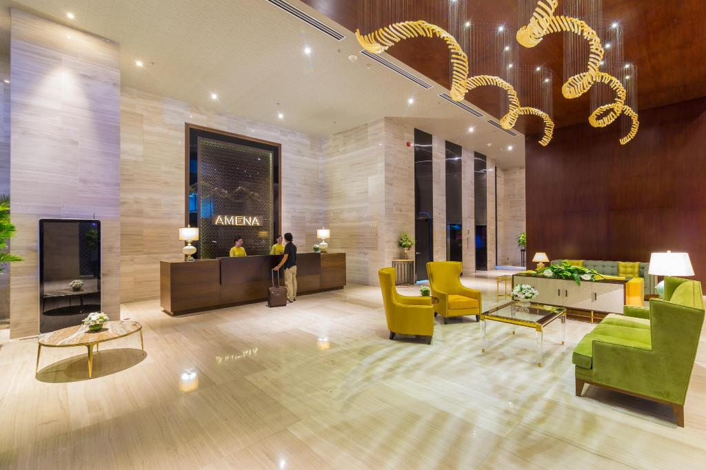 Lobby Amena Residences and Suites