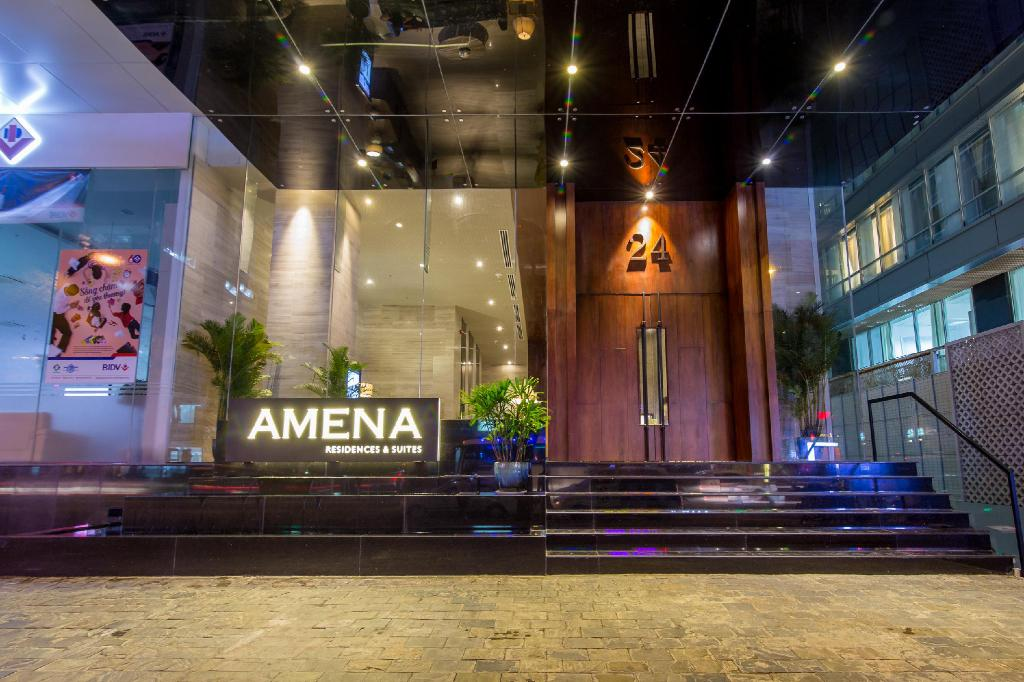 Entrance Amena Residences and Suites