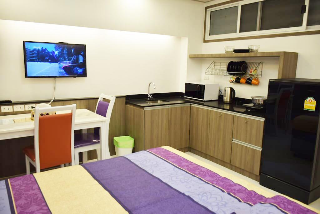 床型 Family Suite Room Pratunam