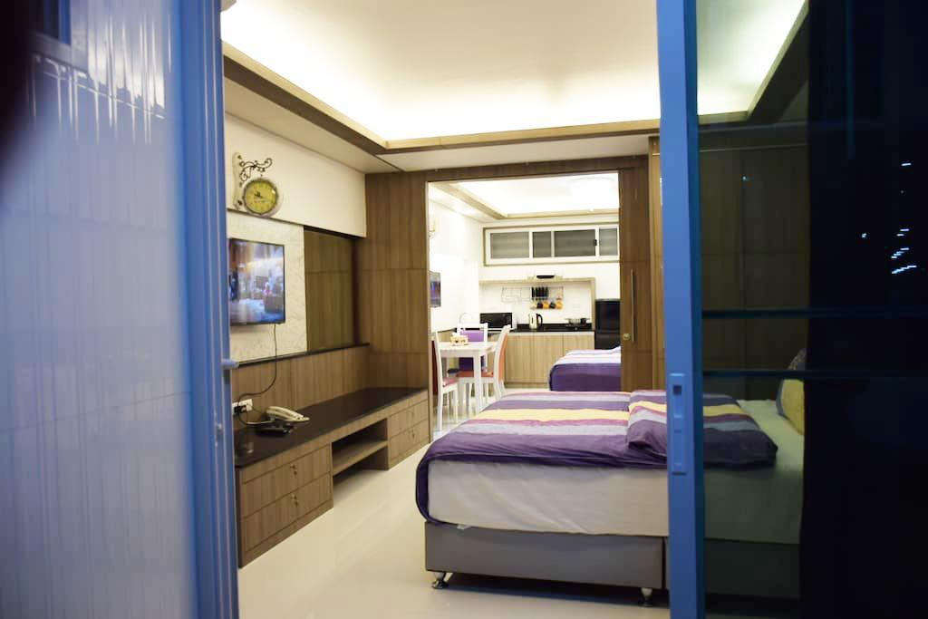 客房 Family Suite Room Pratunam