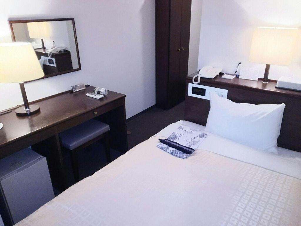 Single Room - Non-Smoking - Guestroom Hirosaki Grand Hotel