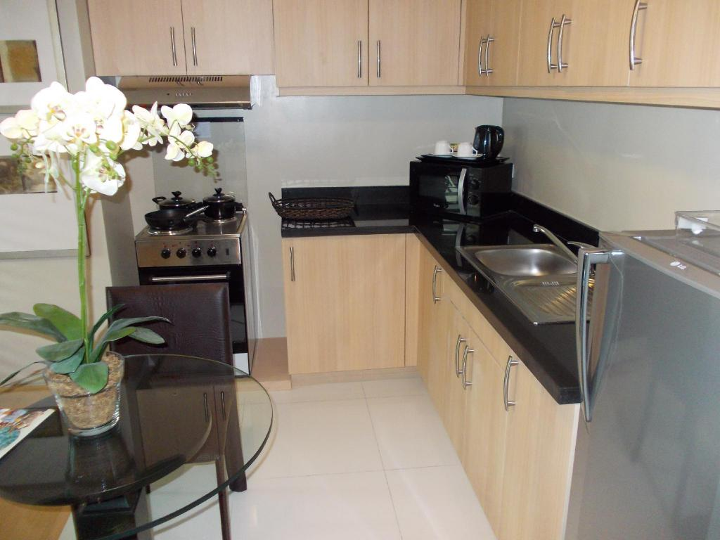 Interior view Fully Furnished Studio Suite 2 in Bonifacio Global City