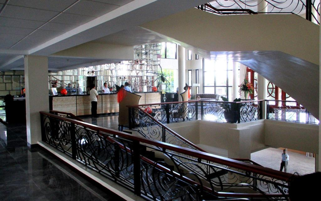 Interior view Hotel Oazis