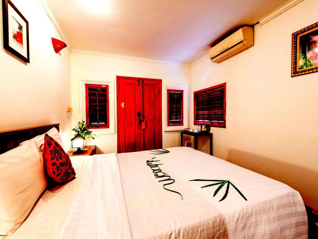 Superior Single Room - Room plan Villa Wat Damnak