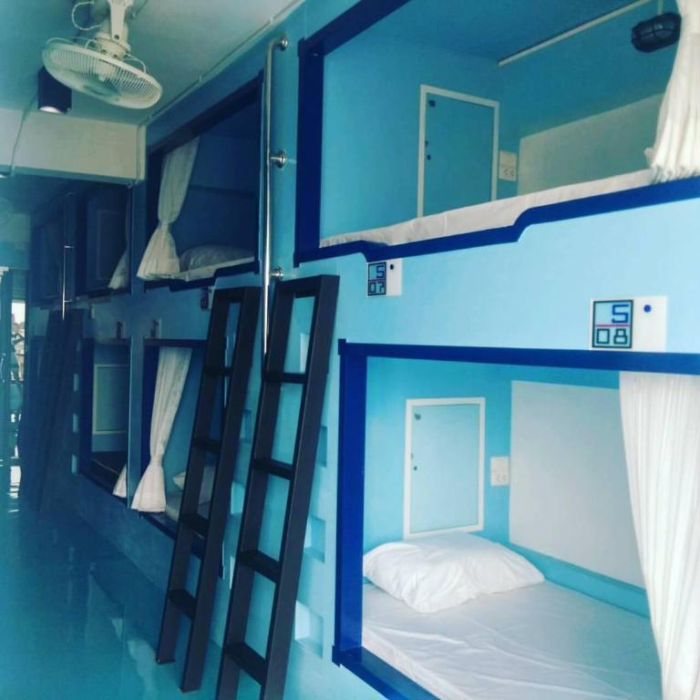 Capsule - Guestroom THE PORT HOSTEL BY SUWATCHAI