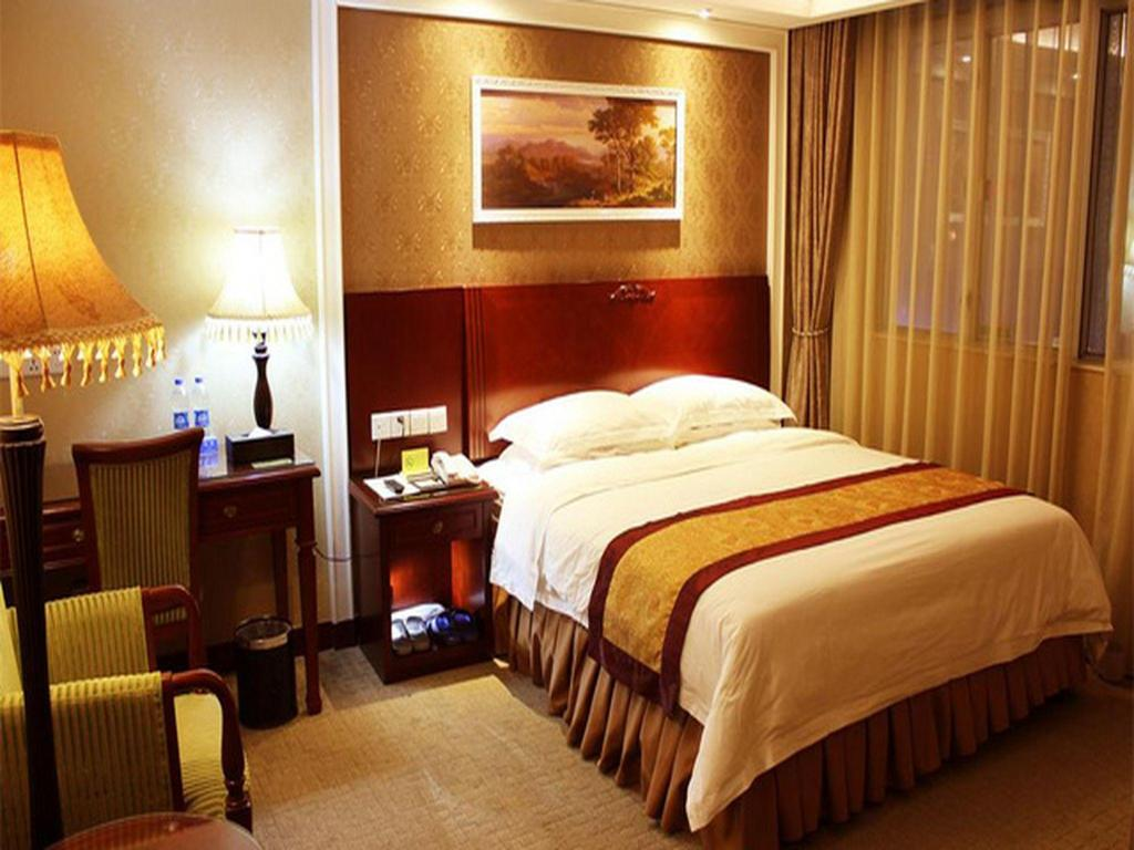 No Window Queen Bed - Guestroom Vienna Hotel Dongguan Songshan Lake Park Branch