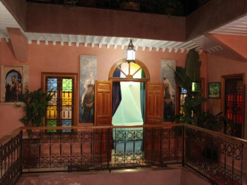 Interior view Riad Zayane Atlas