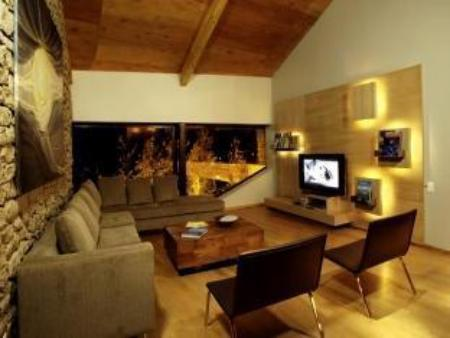 Vista interior Design Suites Calafate Hotel
