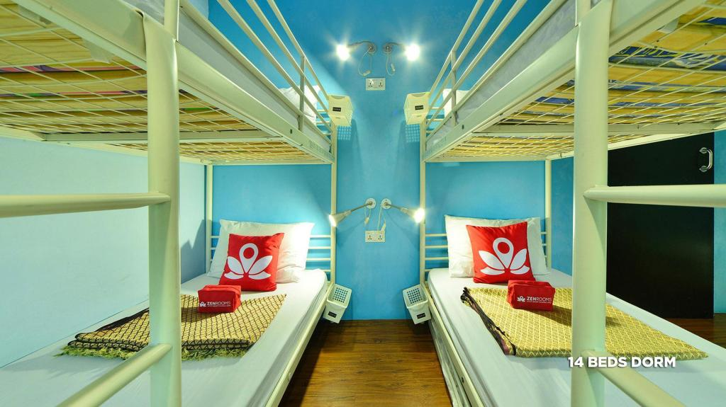 1 Person in 14-Bed Dormitory - Mixed - Bed ZEN Hostel Lavender Street
