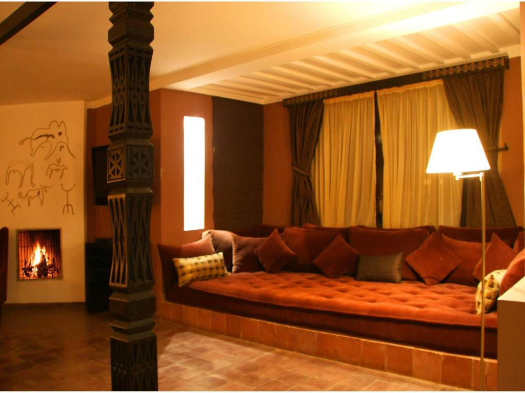Hotellet indefra Kasbah and Spa Agounsane Hotel