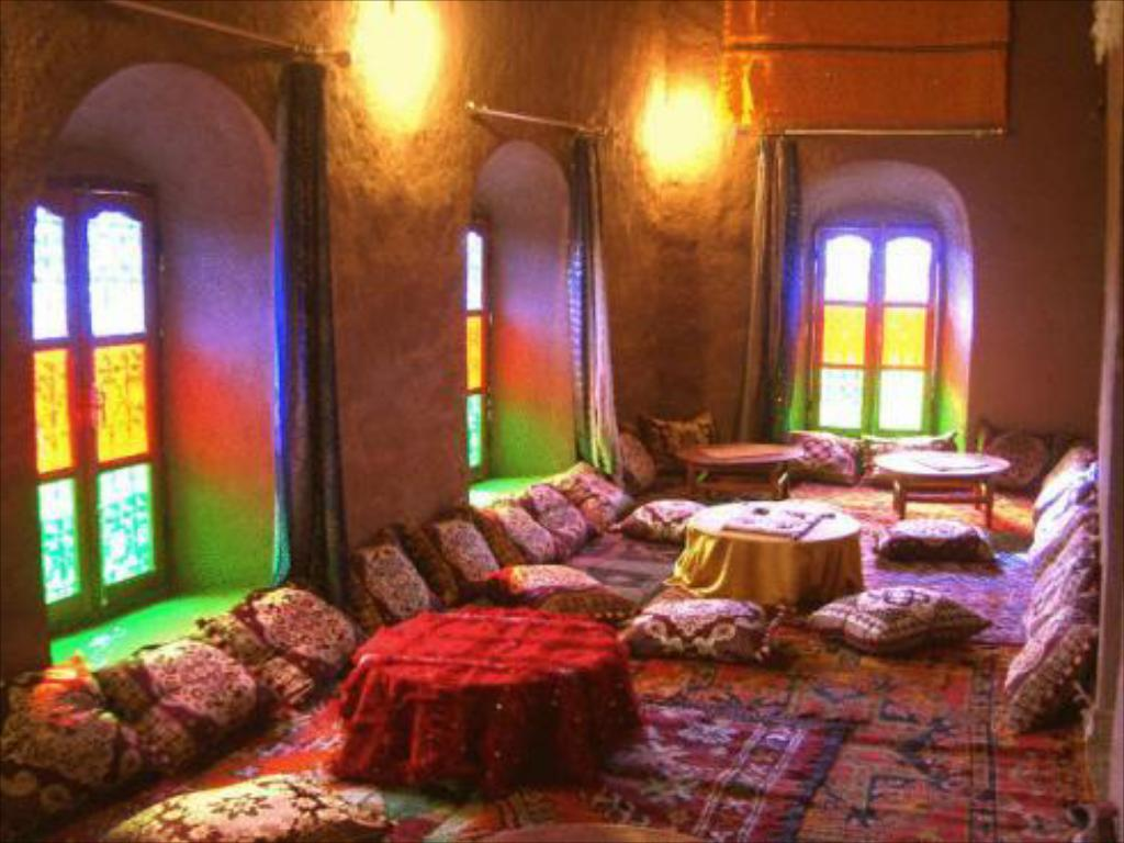 Interior view Kasbah Oulad Othmane